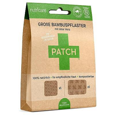 Nutricare | LARGE Bamboo Patches - ALOE VERA