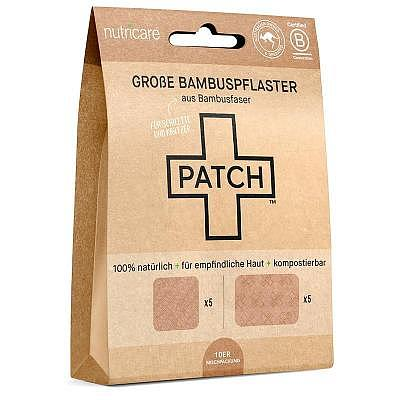 Nutricare   LARGE Bamboo Patches - NATURAL