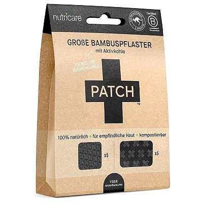 Nutricare | LARGE Bamboo Patches - AKTIVKOHLE