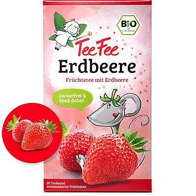 TeeFee Früchtetee    Erdbeere